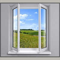UPVC Frames Windows