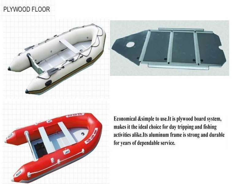 270 Cm Inflatable Fishing Boat