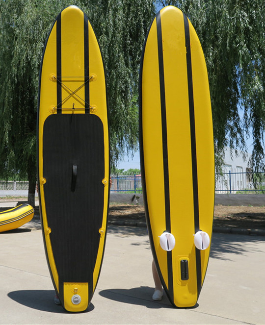 Inflatable 320 SUP Surf Board with Adjustable Paddle