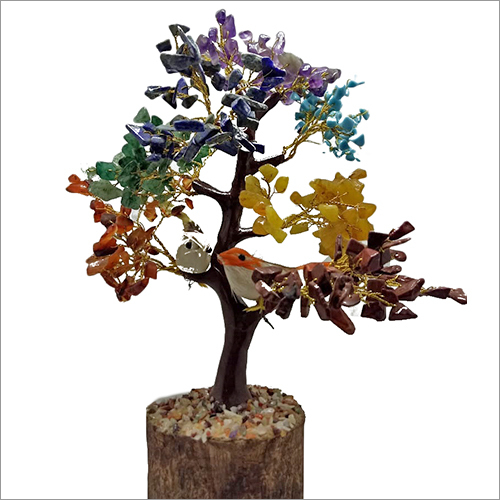 Artificial Seven Chakra Tree