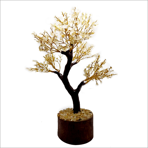 Artificial Citrine Tree