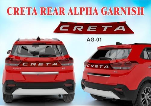 CRETA REAR ALPHA GARNISH