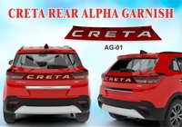 CRETA REAR ALPHA GARNISH