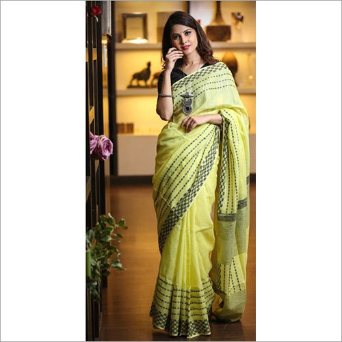 Tissue Silk Plain Saree