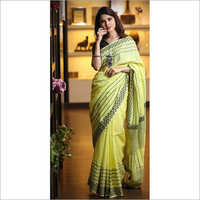 Tissue Silk Printed Saree
