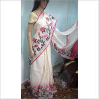 Jacqurd Work Saree