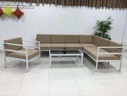 Metal sofa sets