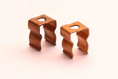 Brass Fuse Clips