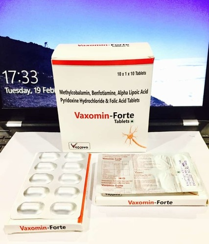 Methylcobalmin Benfotiamine, Ala. Pyriodoxine, & Folic Acid