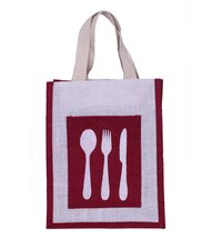 Spoon Maroon  spoon Lunch Bag