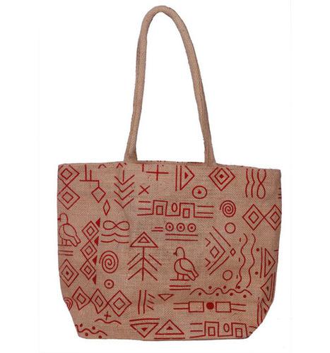 Natural Small Shopping Bag