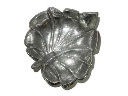 Aluminium Fruit Tray Leaf Design