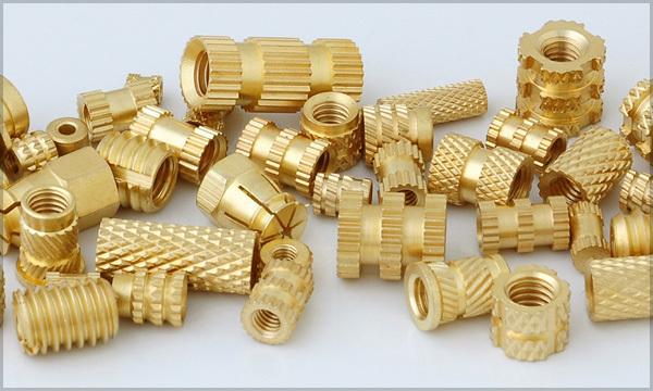 Brass Inserts for Plastics Molding