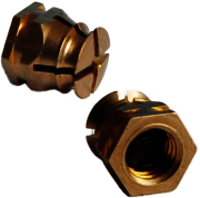 Brass Inserts for Plastics Molding