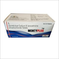 Montelukast 10 MG + Levocetrizine 5 MG Tablets