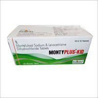 Montelukast 4 MG + Levocetrizine 2.5 MG Tablets