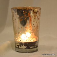 Sml Glass T Light Candle