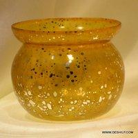 Lutiya Shape Glass Candle Holder