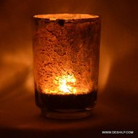 Silver Finish T Light Votive