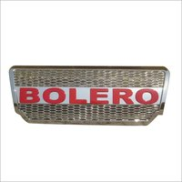 Bolero Alpha Grill Chrome /Red