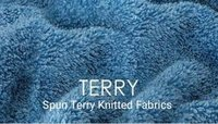 Spun Terry Knitted Fabric