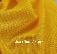 Spun Pique Fabrics