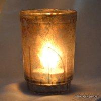 Night Purpose Glass Candle Votive