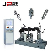 Generator Rotor Rubber Roller Industrial Fan Crankshaft Balancing Machine