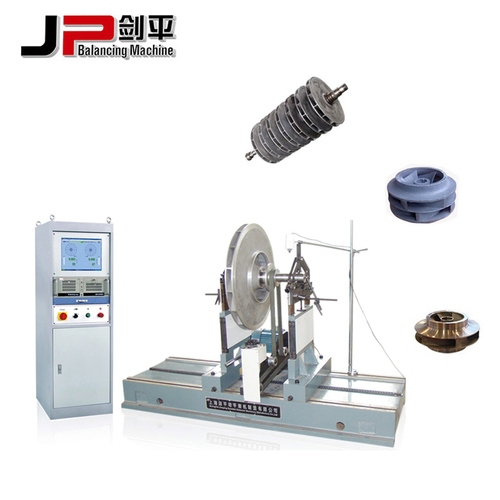 Centrifugal Water Pump Impeller Dynamic Balancing Machine
