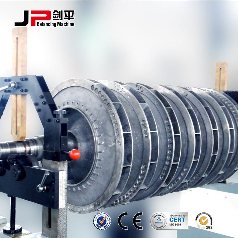 Centrifugal Water Pump Impeller Dynamic Balancing Machine
