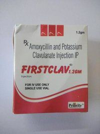 Amoxicillin 1000 MG + Clavulanic Acid 200 MG Injection