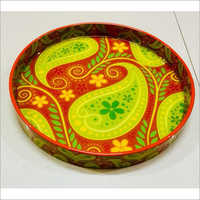 Wooden Round Trays