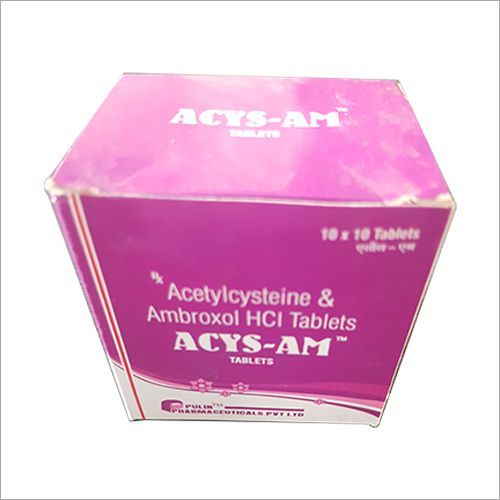Acetyl Cystine 300 MG + Ambroxol 30 MG Tablet
