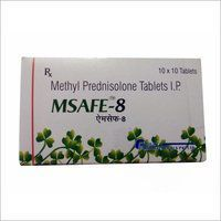 Methyl Prednisolone 8 MG Tablet