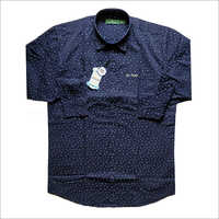 Mens Polka Dotted Casual Shirt