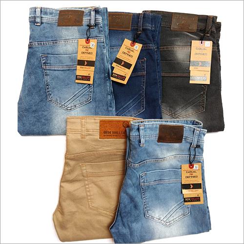 Mens Denim Casual Jeans