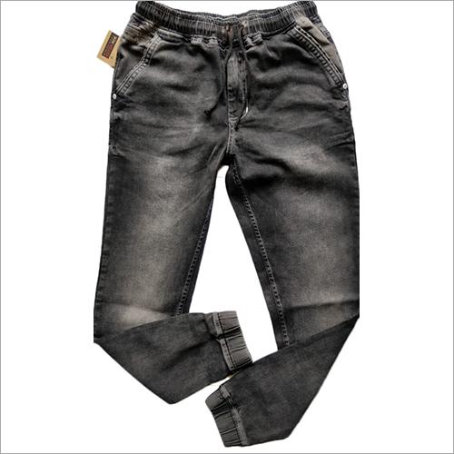 Mens Grey Jogger Jeans