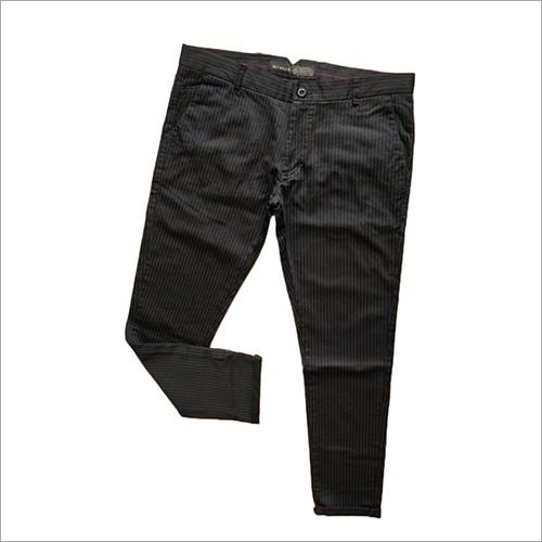 Mens Black Trouser