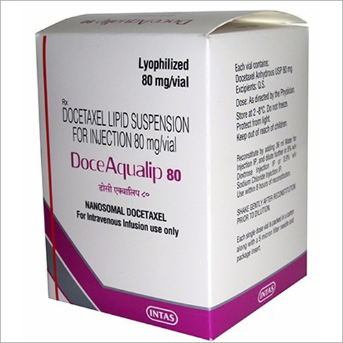 Doceaqualip 80mg Injection