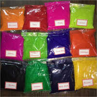 Flocking coloured Powder