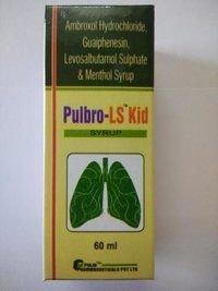 Ambroxol HCL + Guaiphenesin + Levosalbutamol Syrup