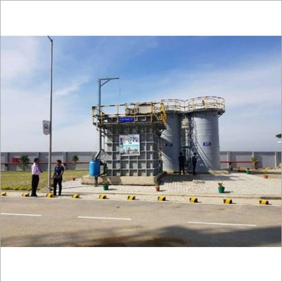 Multiple Material Used Effluent Water Treatment Plant