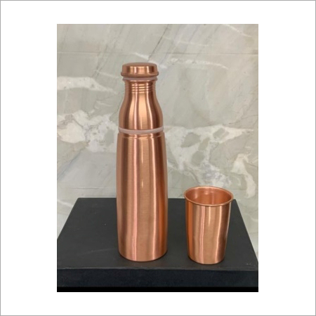 Copper Bottles with Glass