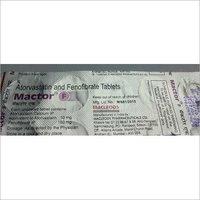 atorvastin tabletsfenofibrate tablet