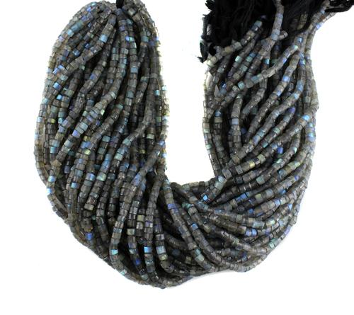 Labradorite Tyre Beads