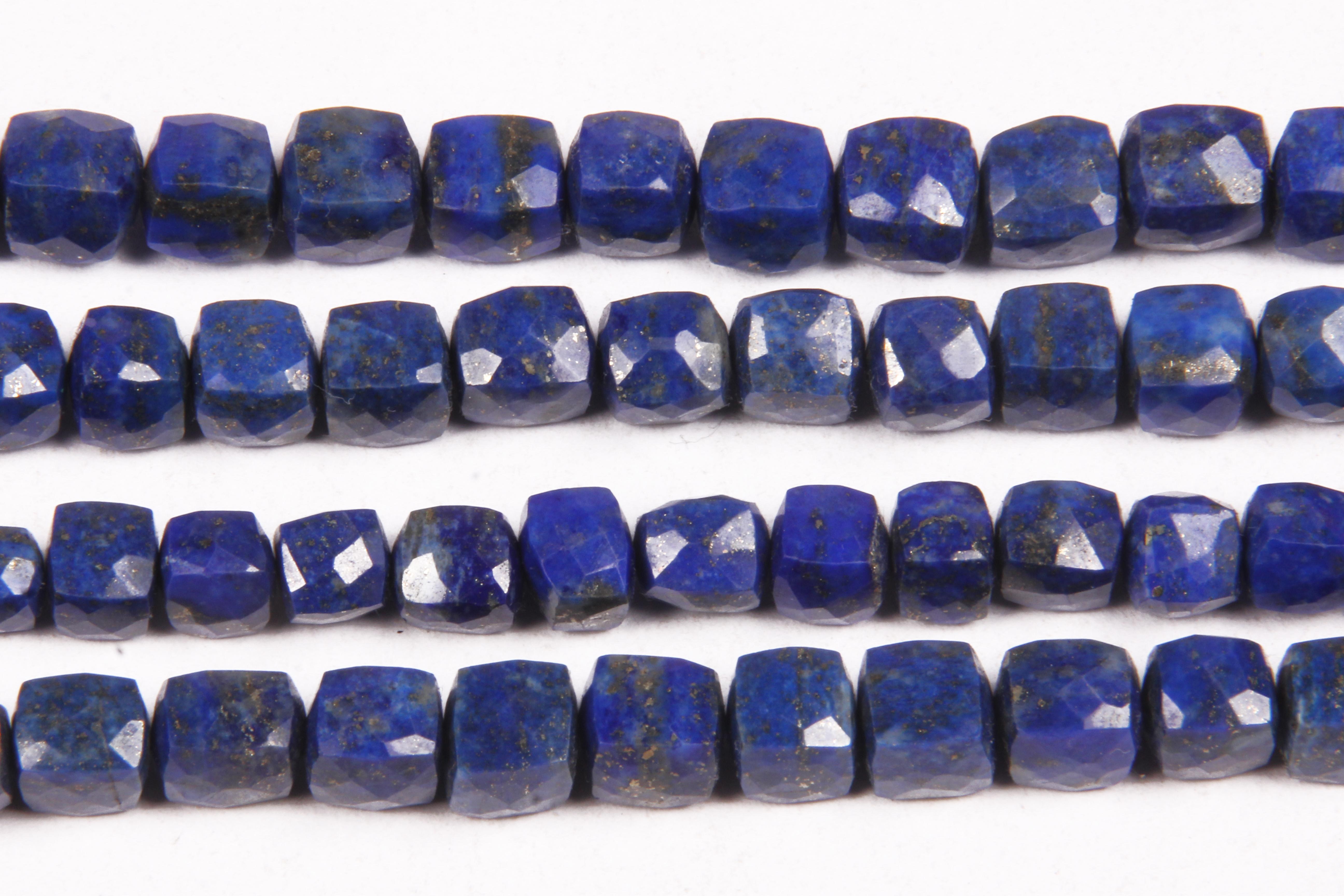 Lapis Lazuli Box Beads