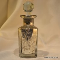 Silver Perfume Bottle & Decanter