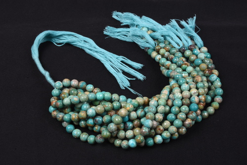 Arizona Turquoise Round Beads