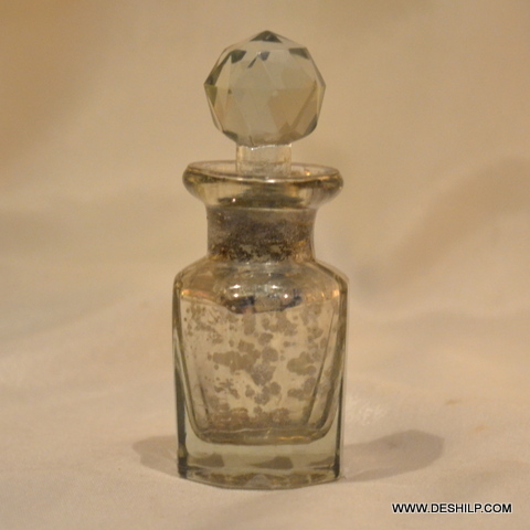 Stopper Glass Perfume Bottle