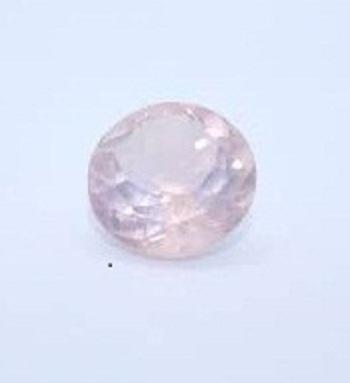 2.25mm Natural Rose Quartz Faceted Round Gemstone
